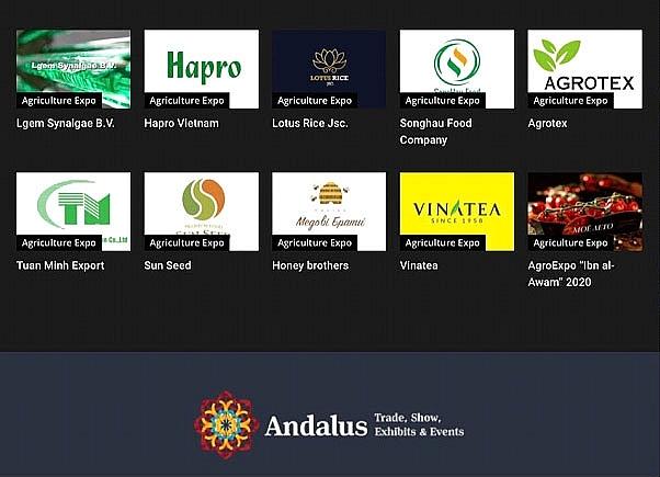 6 doanh nghiệp Việt Nam tham dự triển lãm quốc tế trực tuyến về nông nghiệp tại Algeria