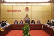 Đến năm 2025, xây dựng Nghệ An trở thành tỉnh phát triển