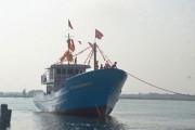 Quảng Trị: Hạ thủy tàu vỏ thép đầu tiên theo Nghị định 67