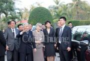 Nhà vua Nhật Bản rất vui khi đến với Cố đô Huế