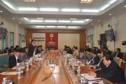 Bộ Công Thương làm việc với tỉnh Quảng Ninh về hoạt động sản xuất than