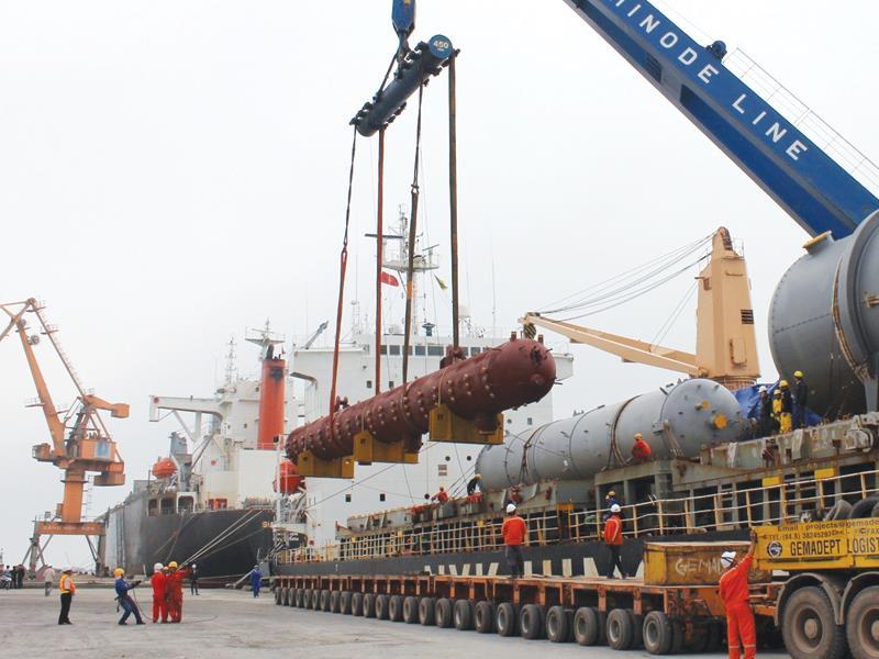 Lợi thế cảng nước sâu Nghi Sơn góp phần hội tụ các Dự án lớn đến với Khu kinh tế Nghi Sơn