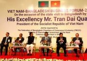 Thứ trưởng Cao Quốc Hưng tháp tùng Chủ tịch nước Trần Đại Quang thăm Bangladesh