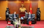 Thứ trưởng Đỗ Thắng Hải tiếp Đại sứ đặc mệnh toàn quyền nước Cộng hòa Peru tại Việt Nam
