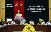 'Ninh Bình là tỉnh nhỏ nhưng làm được nhiều việc lớn'