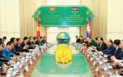 Thủ tướng Nguyễn Xuân Phúc kết thúc chuyến thăm chính thức Campuchia