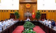 Thủ tướng Nguyễn Xuân Phúc chủ trì cuộc họp về thương mại Việt Nam - EU