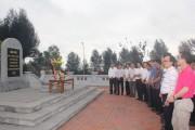 Đoàn đại biểu Công đoàn Dầu khí Việt Nam tham quan mỏ than Đèo Nai