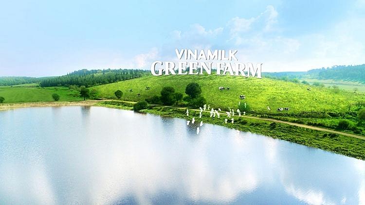 Vinamilk ra mắt sữa tươi Green Farm từ trang trại sinh thái