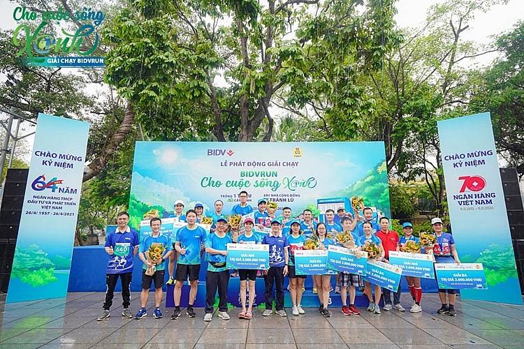 BIDV tổ chức giải chạy BIDVRUN - Cho cuộc sống xanh