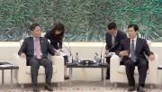 Bộ trưởng Trần Tuấn Anh hội đàm với Bộ trưởng Bộ Thương mại Trung Quốc Chung Sơn