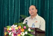 Thủ tướng Nguyễn Xuân Phúc: Phục vụ nhân dân là nhiệm vụ quan trọng nhất