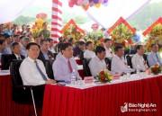 Phó Thủ tướng Vương Đình Huệ dự lễ khởi công Nhà máy sản xuất gỗ trên 2.000 tỷ đồng