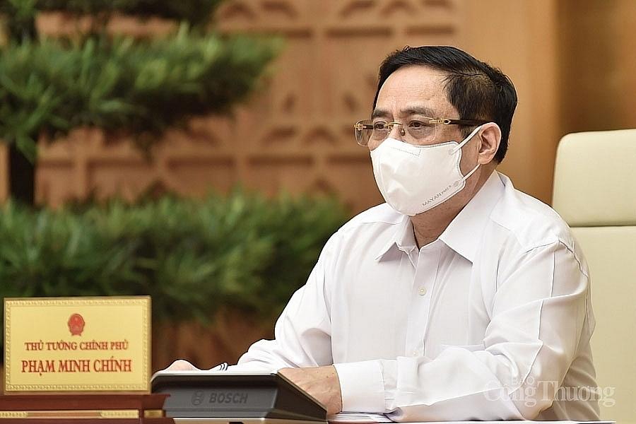 Thủ tướng Chính phủ: Mục tiêu cao nhất là đẩy lùi 2 ổ dịch Bắc Giang, Bắc Ninh
