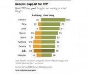 Việt Nam đứng đầu danh sách các nước lạc quan về TPP
