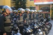 Thừa Thiên Huế: Lực lượng Công an ra quân bảo vệ trật tự đô thị