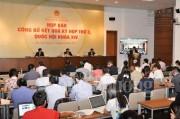 Kỳ họp thứ 3, Quốc hội khóa XIV: Hoàn thành nhiều nội dung quan trọng