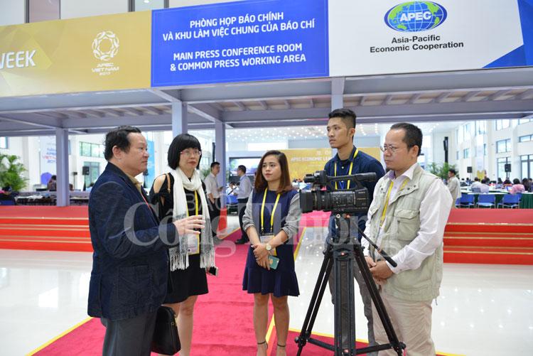 Nhà báo Nguyễn Hữu Quý- Tổng Biên tập Báo Công Thương: Dừng lại nghĩa là thụt lùi