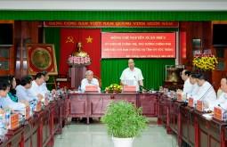 Thủ tướng: Tỉnh Sóc Trăng cần tiếp tục tạo môi trường đầu tư, thu hút phát triển