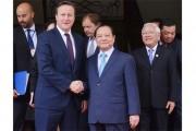Thủ tướng Vương quốc Anh và Bắc Ireland thăm TP.HCM