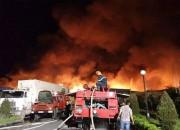 Hải Phòng: Cháy lớn tại kho nhà máy sản xuất nến