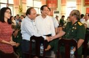 Thủ tướng thăm Trung tâm Điều dưỡng thương binh và người có công Long Đất