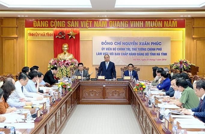 thu tuong ha tinh vuon len tu can doi ngan sach la dieu rat an tuong