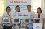 Bệnh viện Phụ sản - Nhi Đà Nẵng tiếp nhận 5 máy theo dõi chức năng sống