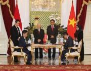 Bộ trưởng Bộ Công Thương Trần Tuấn Anh tham gia đoàn Tổng Bí thư thăm chính thức Indonesia