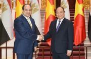 Việt Nam coi thương mại, đầu tư là lĩnh vực ưu tiên trong hợp tác với Ai Cập