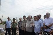 Thủ tướng kiểm tra công tác khắc phục hậu quả bão số 10 tại Hà Tĩnh