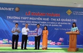 tap doan bao viet dong hanh cung the he tre viet nam xay truong hoc tai quang tri