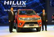 Ra mắt Toyota Hilux 2015 tại Việt Nam