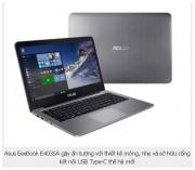 Asus ra mắt laptop đầu tiên có cổng USB Type-C tại Việt Nam