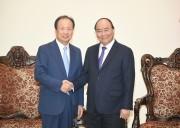 Thủ tướng tiếp lãnh đạo Công ty Samsung Electronics, Hàn Quốc