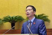 Bộ trưởng Trần Tuấn Anh trình Quốc hội Luật Cạnh tranh sửa đổi