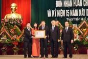 Trường Cao đẳng nghề Du lịch Huế đón nhận Huân chương Lao động hạng Nhì