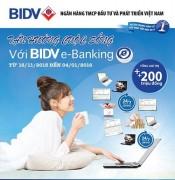 Dịch vụ BIDV Online: Thêm tiện ích - Tăng lợi ích