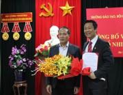 Ông Nguyễn Thiện Nam được bổ nhiệm Hiệu trưởng Trường Đào tạo, bồi dưỡng cán bộ Công Thương Trung ương