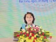 Chủ tịch Quốc hội dự lễ kỷ niệm 20 năm tái lập tỉnh Bạc Liêu