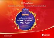 """SeABank được Global Business Outlook vinh danh """"Ngân hàng bán lẻ sáng tạo nhất Việt Nam"""""""
