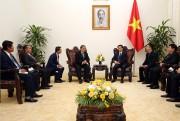 Phó Thủ tướng Vũ Đức Đam tiếp Bộ trưởng Thông tin Campuchia