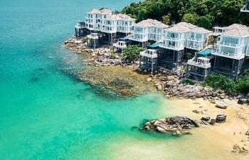 don mua le hoi ruc ro tren dao ngoc tai premier village phu quoc resort