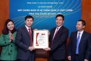 BVC tái cấp Giấy chứng nhận ISO 9001:2008 cho PLC