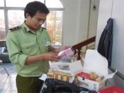 Phú Yên: Thu giữ nhiều hàng hóa không có hóa đơn