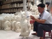 Làng gốm Kim Lan: Chuyển đổi lò nung truyền thống sang lò nung gas