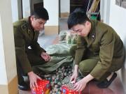 Lạng Sơn - Quảng Ninh: Bắt nhiều vụ buôn lậu pháo