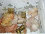 TP. Hồ Chí Minh: Phát hiện cơ sở làm giò, chả từ thịt bẩn