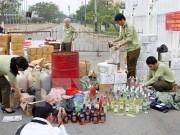 Quảng Trị: Thu giữ lượng lớn hàng lậu