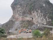 Báo động khai thác đá ở Hữu Lũng - Lạng Sơn (Kỳ II)
